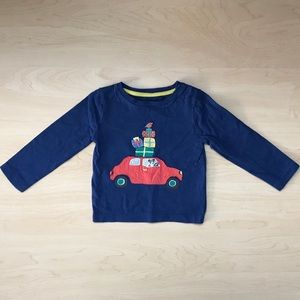 Baby Boden Holiday Shirt